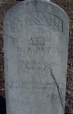 Cattie Olive <i>Carlyle</i> Davis