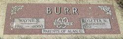 Wayne Schuessler Burr