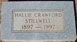 Hallie <i>Crawford</i> Stillwell