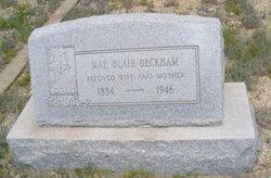 Mae <i>Blair</i> Beckham