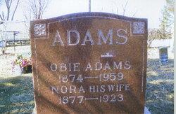 Nora Frances <i>Reynolds</i> Adams