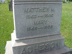 Mary <i>Jeffery</i> Acheson