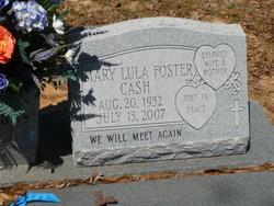 Mary Lula <i>Foster</i> Cash