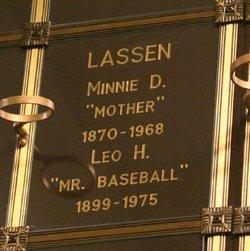 Leo H. Mr. Baseball Lassen