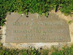 Harry R Anderson