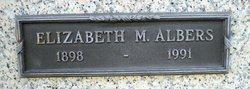 Elizabeth M. Albers