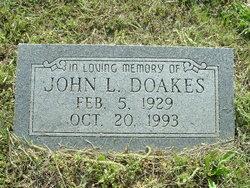 John L Doakes