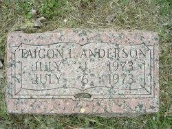 Taigon L Anderson
