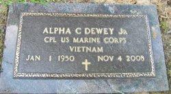 Alpha C. Dewey, Jr