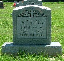 Deulah Mae <i>Edwards</i> Adkins