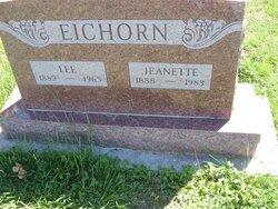 Jeanette Alice Nettie <i>Tannahill</i> Eichorn