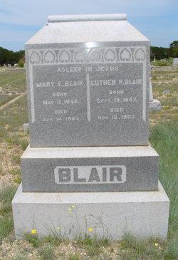 Mary Elizabeth <i>Whiting</i> Blair