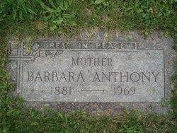 Barbara Anthony