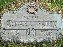 Grace M <i>Lane</i> Knapp