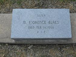 Sr M. Florence Blaes