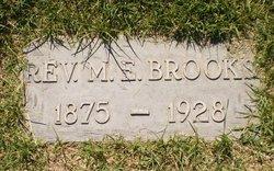 Rev M E Brooks