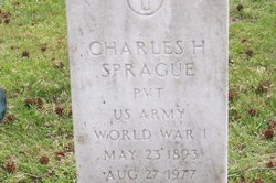Pvt Charles Henry Sprague