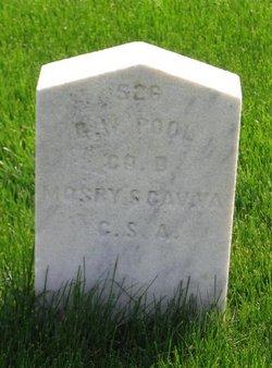 Pvt George W. Pool