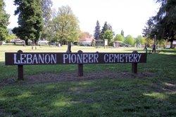 Lebanon Pioneer Cemetery