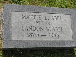 Mattie L Abel