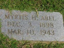 Myrtis H Abel