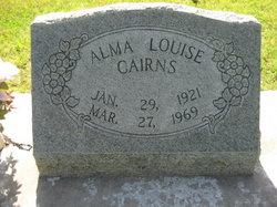 Alma Louise Cairns