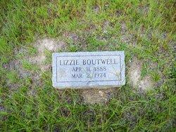 Nancy Elizabeth Lizzie <i>Aycock</i> Boutwell