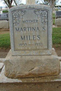Mary Martha (Martina) Miles