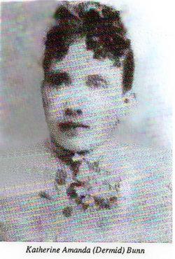 Katherine Amanda Kittie <i>Dermid</i> Bunn