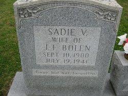 Sadie Virginia <i>Vaughn</i> Bolen