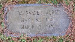 Ida <i>Sasser</i> Acree