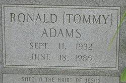 Ronald Tommy Adams