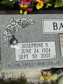 Josephine Isabell <i>Young</i> Baggs