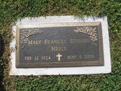 Mary Frances <i>Sturgis</i> Neely