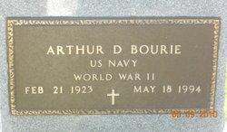 Arthur D Bourie