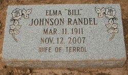 Mrs Elma Lee Bill <i>Johnson</i> Randel