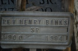 Rev Henry Banks, Sr