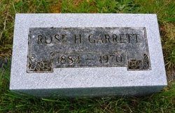 Rose Hattie Rosey <i>Chandler</i> Garrett