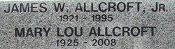 Mary Louise <i>Allen</i> Allcroft