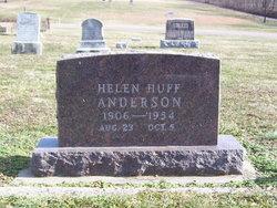 Helen <i>Huff</i> Anderson