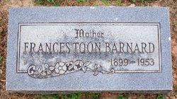 Frances <i>Toon</i> Barnard