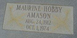 Maurine <i>Hobby</i> Amason
