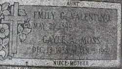 Emily G. Annie Valentino