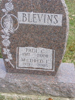 Paul C Blevins