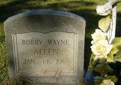 Bobby Wayne Allen
