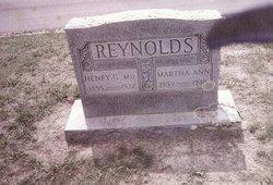 Martha Ann Maloura <i>Wells</i> Reynolds