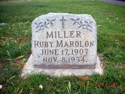 Ruby Marolon <i>Platt</i> Miller