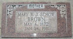 Mary Estella <i>Johnson-Schow</i> Brown