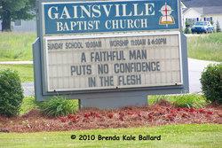 Gainsville Baptist Church Cemetery
