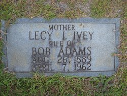 Lecy I. <i>Ivey</i> Adams